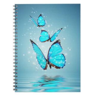 Caderno mágico das borboletas