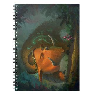 Caderno mágico do urso
