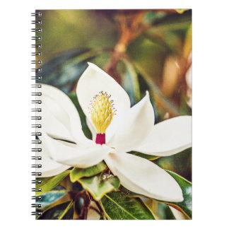 Caderno Magnólia lindo de Mississippi