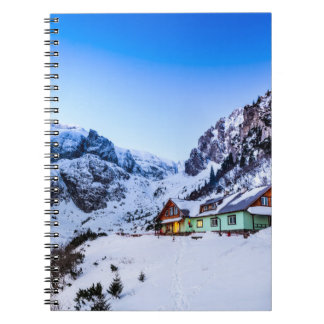 Caderno Malaiesti da foto, montanha de Bucegi