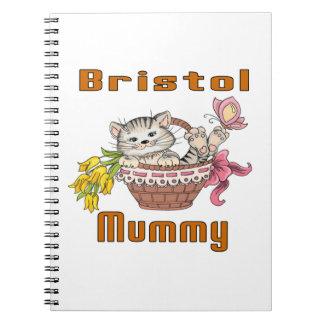Caderno Mamã do gato de Bristol
