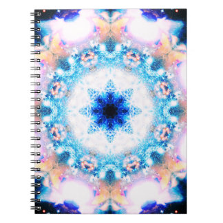 Caderno Mandala clara divina de Multiverse