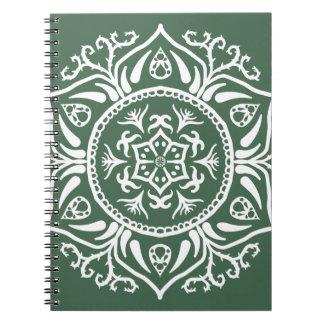 Caderno Mandala da floresta