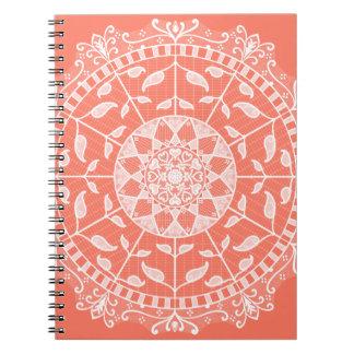 Caderno Mandala da papaia