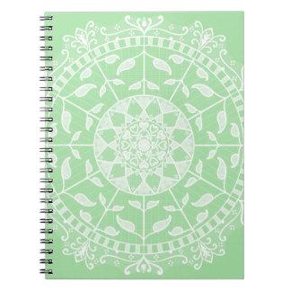 Caderno Mandala de Seafoam