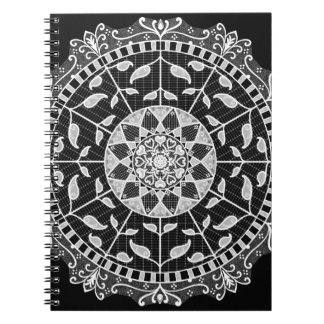Caderno Mandala do corvo