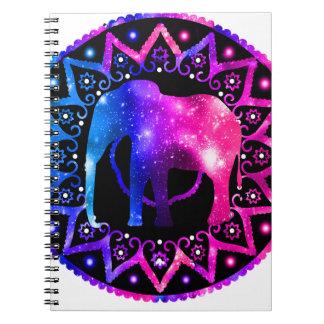 Caderno Mandala do elefante