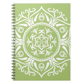 Caderno Mandala do líquene