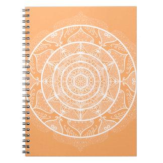 Caderno Mandala do melão