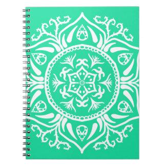 Caderno Mandala Minty