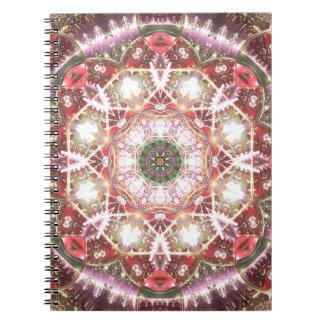 Caderno Mandalas do coração da liberdade 26 presentes