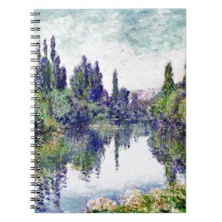 Caderno Manhã no Seine, perto de Vetheuil - Claude Monet