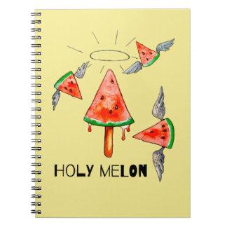 Caderno Melão santamente