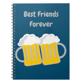 Caderno Melhores amigos para sempre