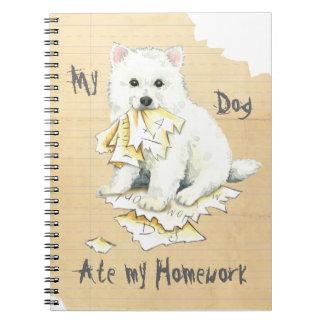 Caderno Meu Eskie comeu meus trabalhos de casa