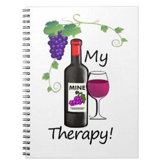 Caderno Minha terapia