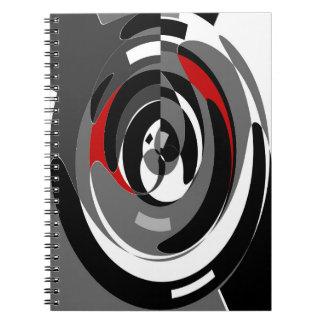 Caderno monocromático