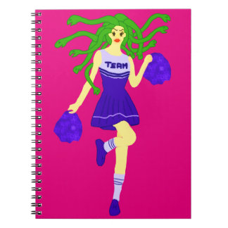 Caderno monstro do cheerleader