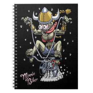 Caderno Motociclista de Minnie
