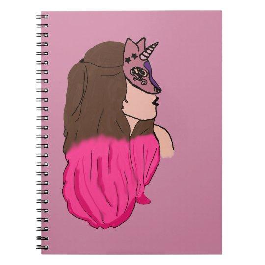 Caderno Mulher unicórnio