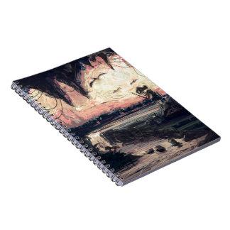 Caderno - mundo em meus olhos pelo micgurro