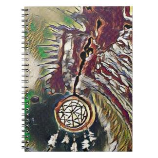 Caderno Nativo americano Dreamcatcher