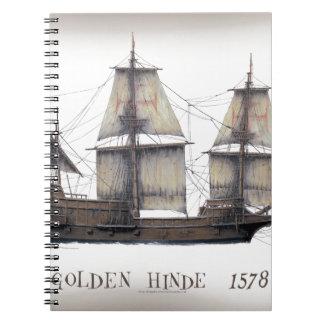 Caderno Navio de Hinde do ouro 1578