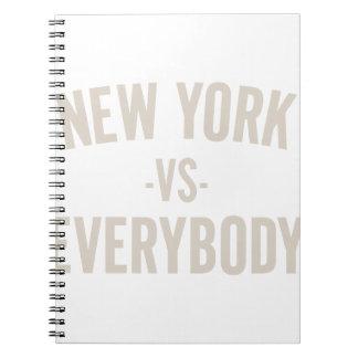 Caderno New York contra todos