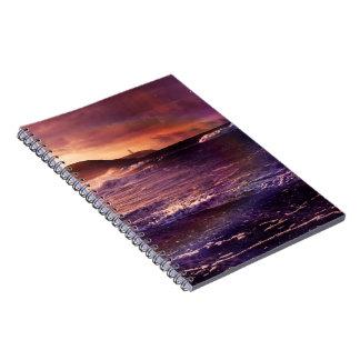 Caderno No horizonte do Fractalscape infinito