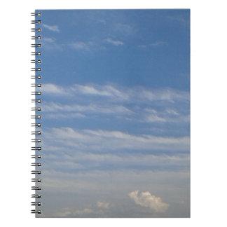 Caderno Nuvens misturadas