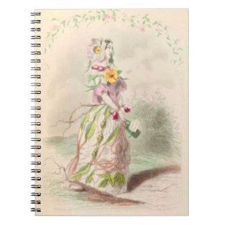 Caderno O Briar de Les Fleurs aumentou