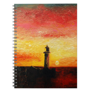 Caderno O farol
