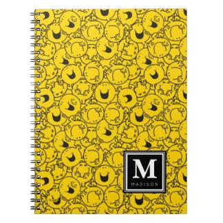 Caderno O grupo do teste padrão amarelo | dos sorrisos