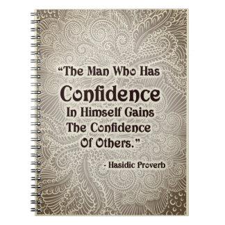 Caderno O homem que tem - Quote´s positivo