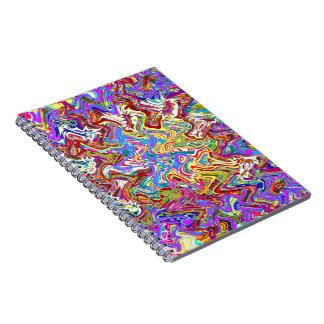 Caderno O modelo vazio DIY da textura do roxo adiciona a