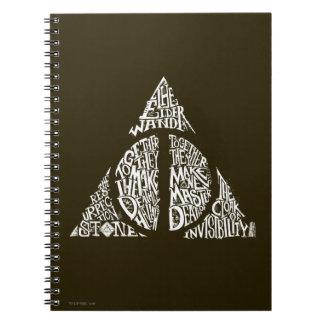 Caderno O período | de Harry Potter DEATHLY HALLOWS a
