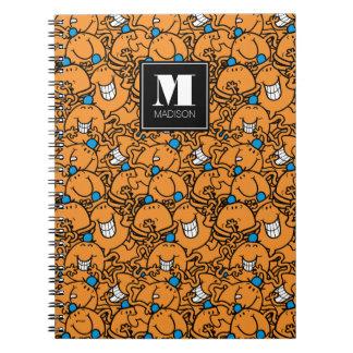 Caderno O teste padrão alaranjado | das cócegas do Sr.