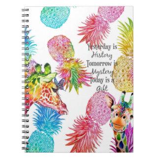 Caderno Ontem, registre amanhã e hoje