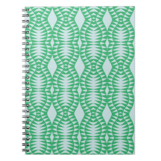 Caderno Optic verde