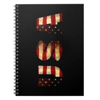 Caderno Os Estados Unidos da América