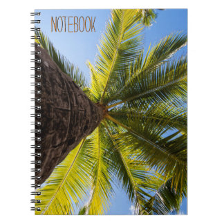 Caderno Palmeira exótica vibrante