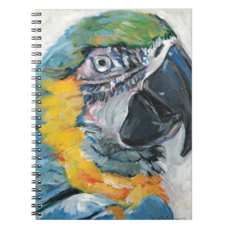 Caderno Papagaio azul