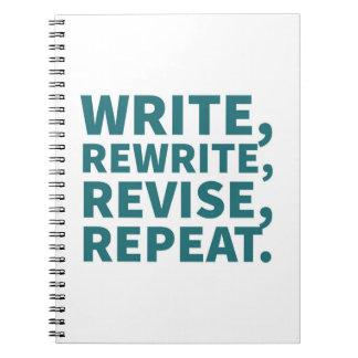Caderno para escritores