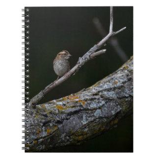 Caderno Pássaro pequeno