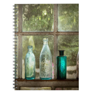 Caderno Passatempo - garrafas - é toda sobre o vidro