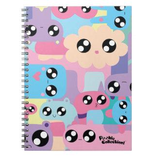 Caderno Pastel de Pookie