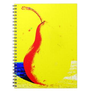Caderno Pera do pop art