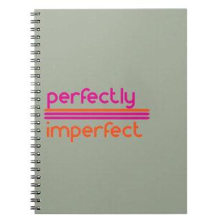 Caderno Perfeitamente imperfeito