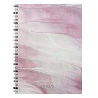 Caderno Perolado e cor-de-rosa