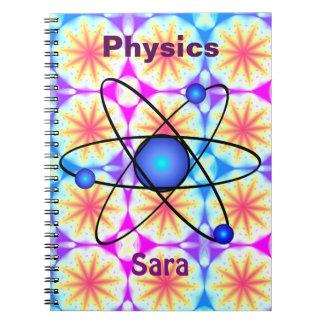 Caderno personalizado da física